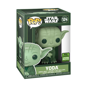 ECCC21 Star Wars Yoda GR Pop Vinyl