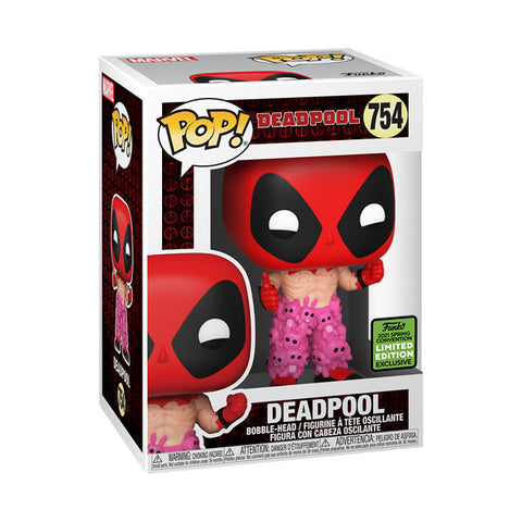 ECCC21 Deadpool w/Teddy Belt Pop Vinyl