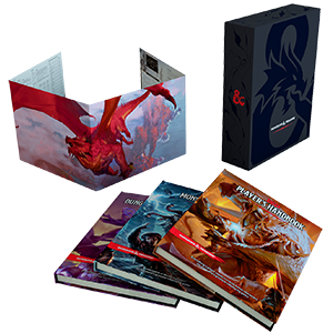 Dungeons And Dragons Rulebook Gift Set