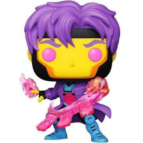 Image of X-Men - Gambit Blacklight US Exclusive Pop! Vinyl