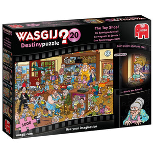 Wasjig 20 The Toy Shop 1000 pc Puzzle