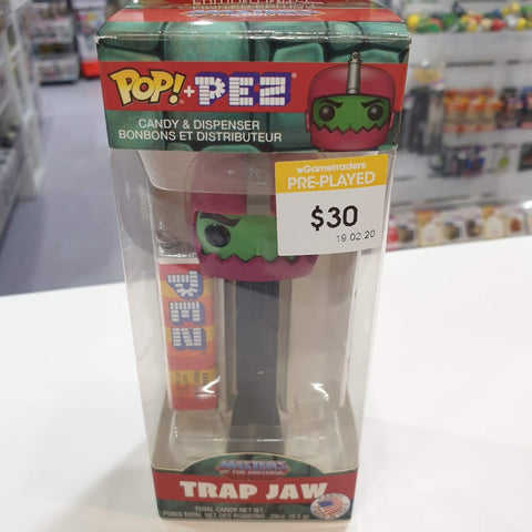 Masters of the Universe Trap Jaw Pop Pez