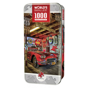 Masterpieces Puzzle Worlds Smallest High Performance Tin Box 1,000 Pieces