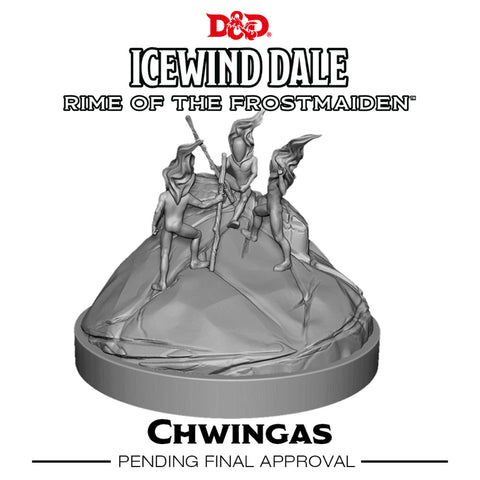 D&D Icewind Dale Rime of the Frostmaiden Chwingas (2 Figs)
