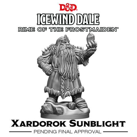 D&D Icewind Dale Rime of the Frostmaiden Xardorok Sunblight