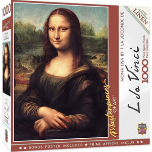 Masterpieces Puzzle Masterpieces of Art Mona Lisa 1,000 Pieces
