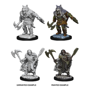 Dungeons & Dragons - Nolzur's Marvelous Unpainted Minis: Unpainted Male Half-Orc Barbarian