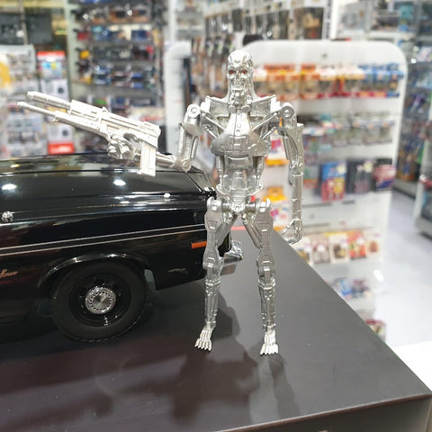 Image of 1:18 The Terminator Dodge Monoaco with figure