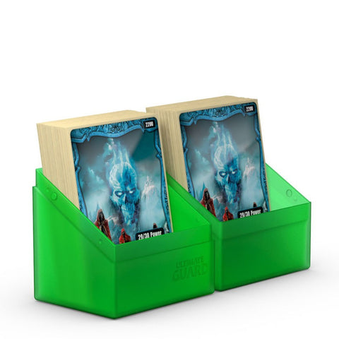 Ultimate Guard Boulder Deck Case 80+ Standard Size Emerald