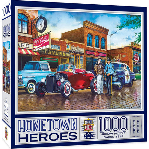 Masterpieces Puzzle Hometown Heroes A Little Too Loud 1,000 Pieces