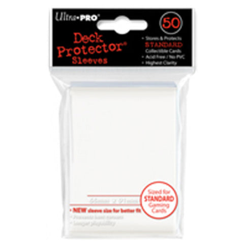 ULTRA PRO Deck Protector - Standard 50ct Powder White