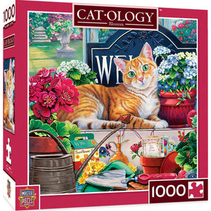 Masterpieces Puzzle Cat-ology Blossom 1000 Pieces