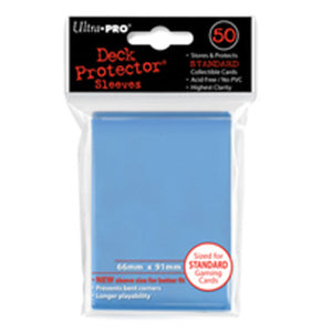 ULTRA PRO Deck Protector - Standard 50ct Light Blue