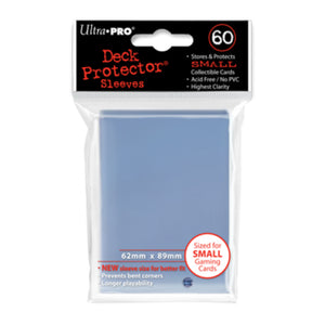 ULTRA PRO Deck Protector - Mini 60ct Clear