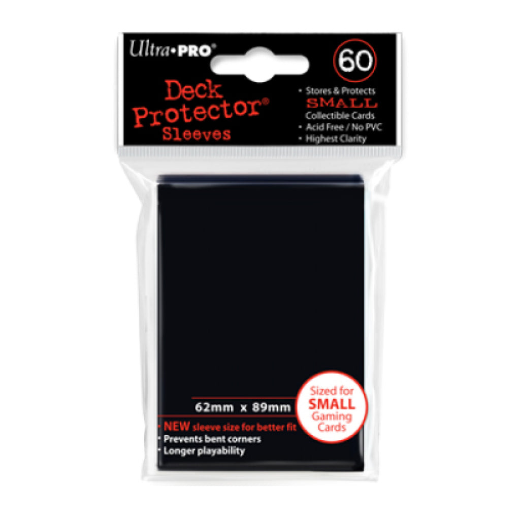 ULTRA PRO Deck Protector - Mini 60ct Black