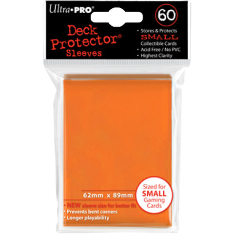 Ultra Pro - Mini Deck Protectors Orange (60 Count)