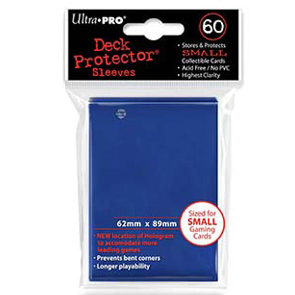 ULTRA PRO Deck Protector - Mini 60ct Blue (Dark)