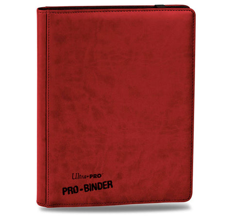 Ultra Pro Premium Binder 18 Pkt Red