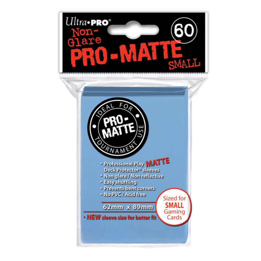 ULTRA PRO - SMALL PRO Matte Deck Protector Sleeves Light Blue