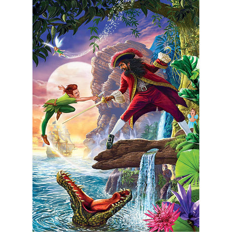Masterpieces Puzzle Classic Fairy Tales Peter Pan 1,000 Pieces