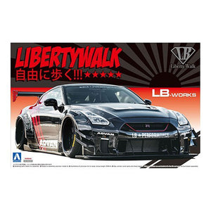 1/24 LB WORKS R35 GT-R type 2 Ver.2