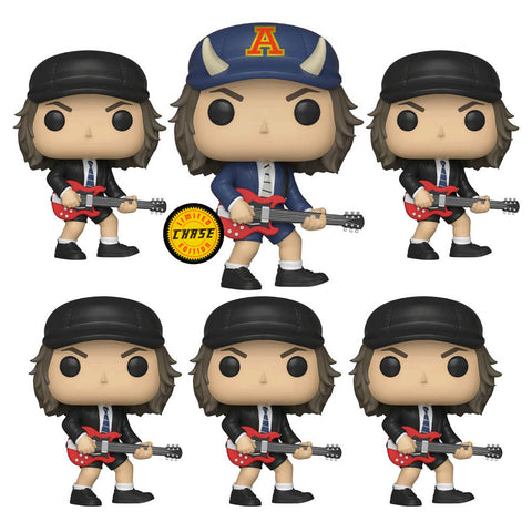 AC/DC - Angus Young Chase Bundle Pop Vinyl