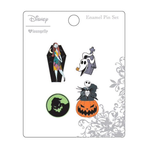 A Nightmare Before Christmas - Enamel Pin 4pk