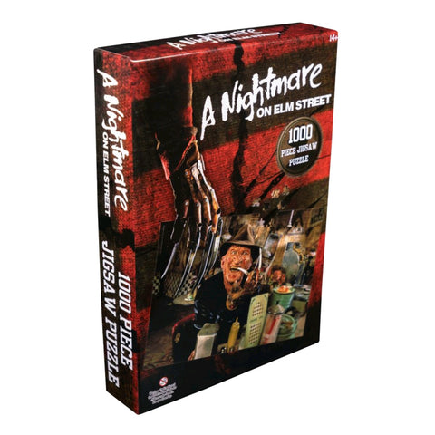 A Nightmare on Elm Street - Freddy Krueger at the Diner 1000 piece Jigsaw Puzzle