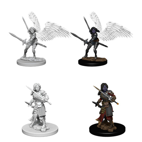 Image of Dungeons And Dragons Unpainted Minis Aasimar Female Paladin