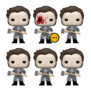 American Psycho - Patrick with Axe Chase Bundle Pop Vinyl (6 pops)