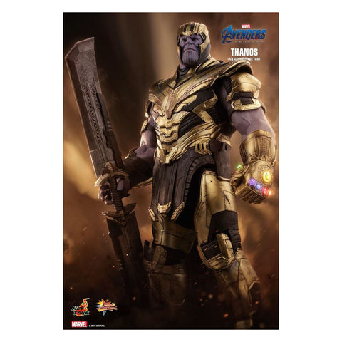 "Image of Avengers 4: Endgame - Thanos 12"" 1:6 Scale Action Figure"