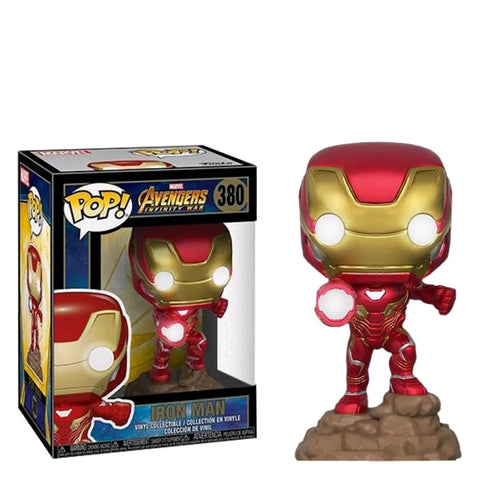 Avengers 3: Infinity War - Iron Man Light Up US Exclusive Pop! Vinyl