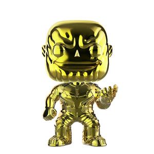 Avengers 3: Infinity War - Thanos Yellow Chrome US Exclusive Pop! Vinyl
