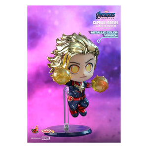 Avengers 4: Endgame - Captain Marvel Metallic Cosbaby
