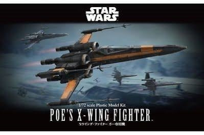Star Wars Poes X-Wing Fighter 1/72 Model Kit