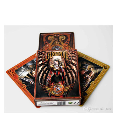 Bicycle Poker Anne Stokes Steampunk