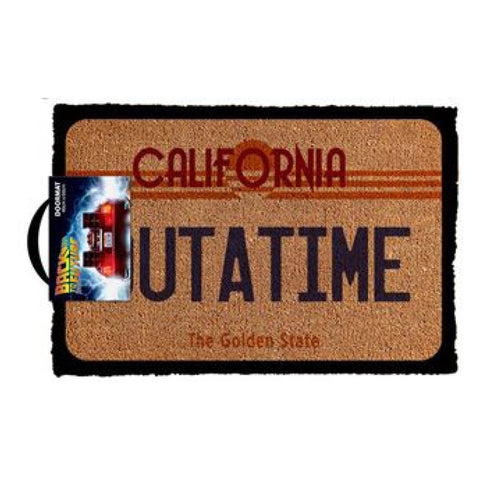 Back To The Future-Outatime Doormat