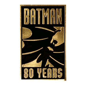 Batman - 80th Anniversary Gold Pin