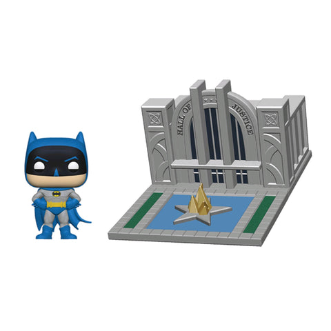 Batman - Batman with Hall of Justice 80th Anniversary Pop! Town