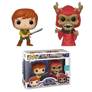 SDCC 2019 - The Black Cauldron Taran & Horned King Pop Vinyls