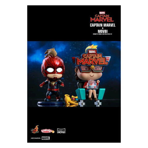 Captain Marvel - Captain Marvel &Movbi Cosbaby Set