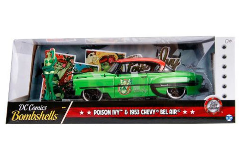 Image of DC Bombshells - Ivy 1953 Bel Air 1:24 Hollywood Ride