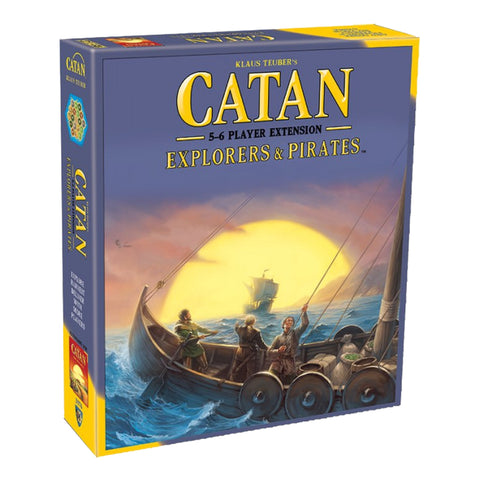 Image of Catan Explorers And Pirates 5-6 Player E