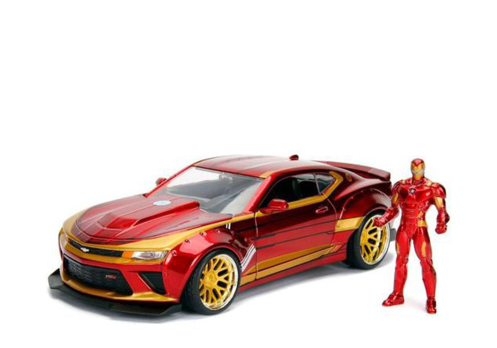 1:24 Ironman w/2016 Chevy Camaro Movie Hollywood Rides
