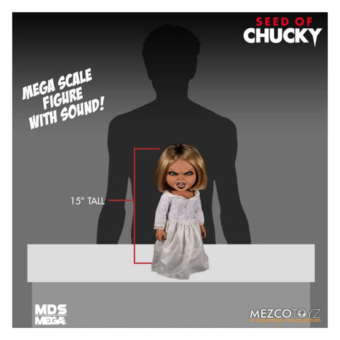 Child's Play 5: Seed of Chucky - Tiffany Doll Mega Scale Figure