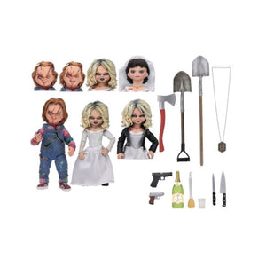 Childs Play 2 Bride of Chucky 7 Inch Scale Action Figure 2-pack