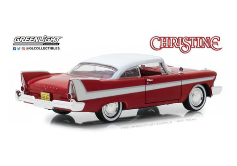 Christine 1958 Plymouth Fury 1/24 Scale
