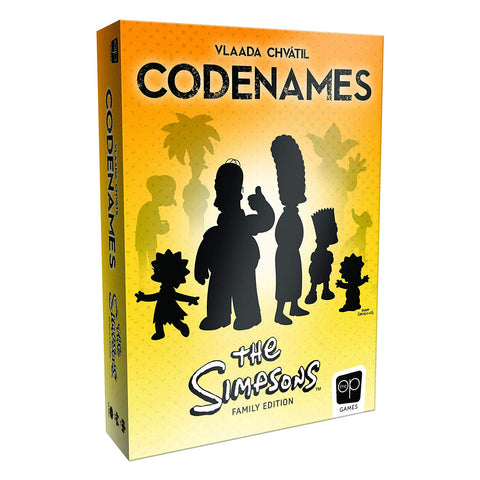 Codenames Simpsons