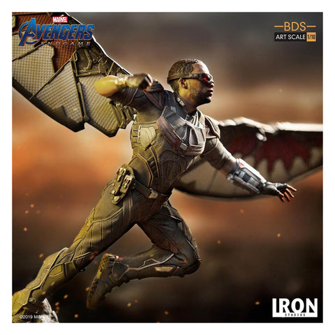 Image of Avengers 4: Endgame - Falcon 1:10 Scale Statue