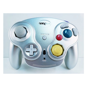Gamecube Wireless Wavedash 2.4GHZ Controller-Silver